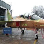 Alenia Aermacchi rolls-out of first two T-346A trainers for the Italian Air Force