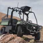 The R-Gator ACS, developed by Boeing Defence UK in partnership with John Deere, is a highly mobile, heavy-duty cross-country vehicle that is capable of keeping up with soldiers over rough terrain. Photo: John Deere/Boeing