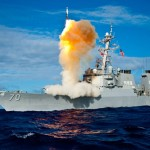 AEGIS BMD Cruiser Lake Eire (CG-70) fires an SM-3 Block 1A in a previous missile intercept test. Photo: U.S. Navy via MDA