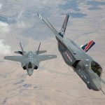 F-35 AF-1 & AF-2 Arrival at Edwards Air Force Base. Photo: Lockheed Martin