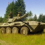 Russia Testing Italian Centauro Wheeled Tanks