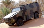 Armored Trucks and MPVs at Eurosatory 2012