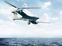 The X1 Hybrid Unmanned Aerial Vehicle combines the capabilities of an aircraft and helicopter to provide a wide range of missions. This innovative design is currently at a concept development phase, by Suisse UAV and Rheinmetall Airborne Systems (RAS). Photo: Rheinmetall