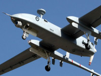 IAI has equipped these Herons operated by the Australians with COMINT, SIGINT in addition to standard MOSP and radars. Photo: Australian defence