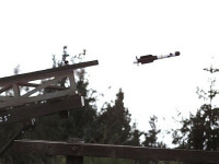 The first firing trial of MBDA&#039;s Kleinflugkrper (KFK) miniature missile. Photo: MBDA