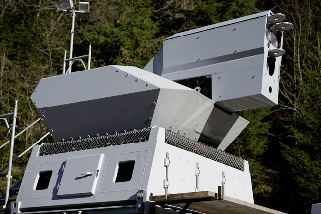 Rheinmetall's 30kw Laser Weapon
