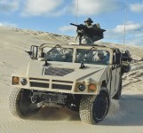 AM General is offering a beefed-up variant of the HMMWV, optimized for Special Operations. Photo: AM General