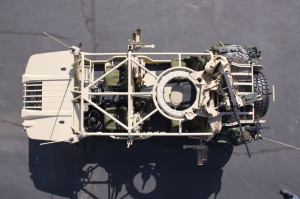A top view of the new MAV-L custom designed special operations vehicle. Photo: Northrop Grumman 