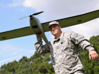 The NOVA Block III UAS from `altavian is used by US Army Engineers to monitor aquatic habitats in Florida. Photo: Altavian
