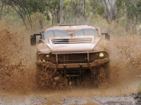 Gator faced Hawkei undergoing trials in Australia. Photo: Australian Defence