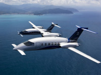 The MPA is based on Piaggio P180 Avanti-II Thri-Plane design.