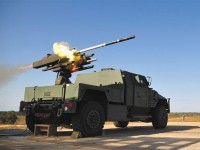 DAGR missile launched from JLTV prototype. Photo: Lockheed Martin