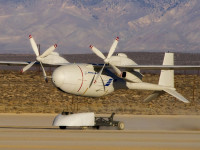 Boeings liquid hydrogen-powered Phantom Eye unmanned airborne system completed its second flight Feb. 25, 2013