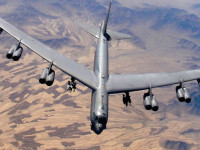 US B2, B-52 Flaypast over Korea &#8211; Warning Signal to Pyongyang