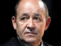 French Defense Minister Jean Yves Le Drian