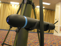 Nemesis man-portable, vertically launched precision guided missile was developed by Lockheed Martin. The missile was displayed at the Special Operations Low-Intensity Conflict exhibition in January 2013.
