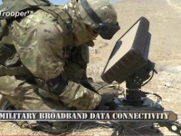 SatTrooper 1000 from Gilat was selected by the IDF to provide satellite links for  dismounted infantry units. Photo: Gilat