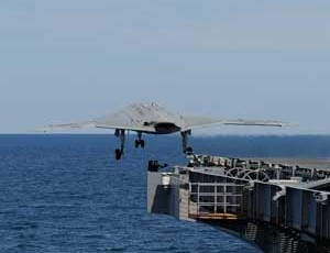 First Unmanned Aircraft Launch from Carrier &#8211; A Moment in History